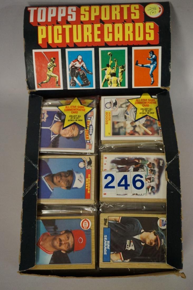 (2) 1987 TOPPS BASEBALL PACK RACK BOXES, - 3