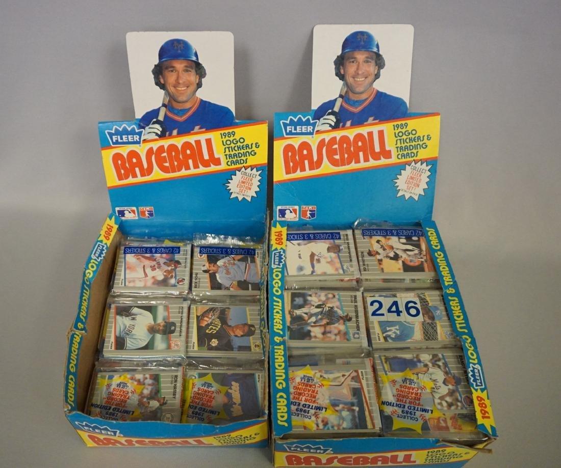(2) 1987 TOPPS BASEBALL PACK RACK BOXES, - 4