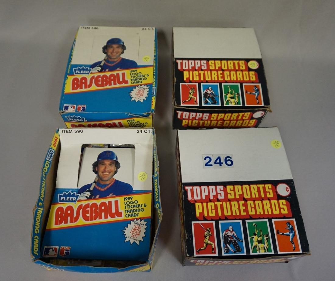 (2) 1987 TOPPS BASEBALL PACK RACK BOXES, - 5