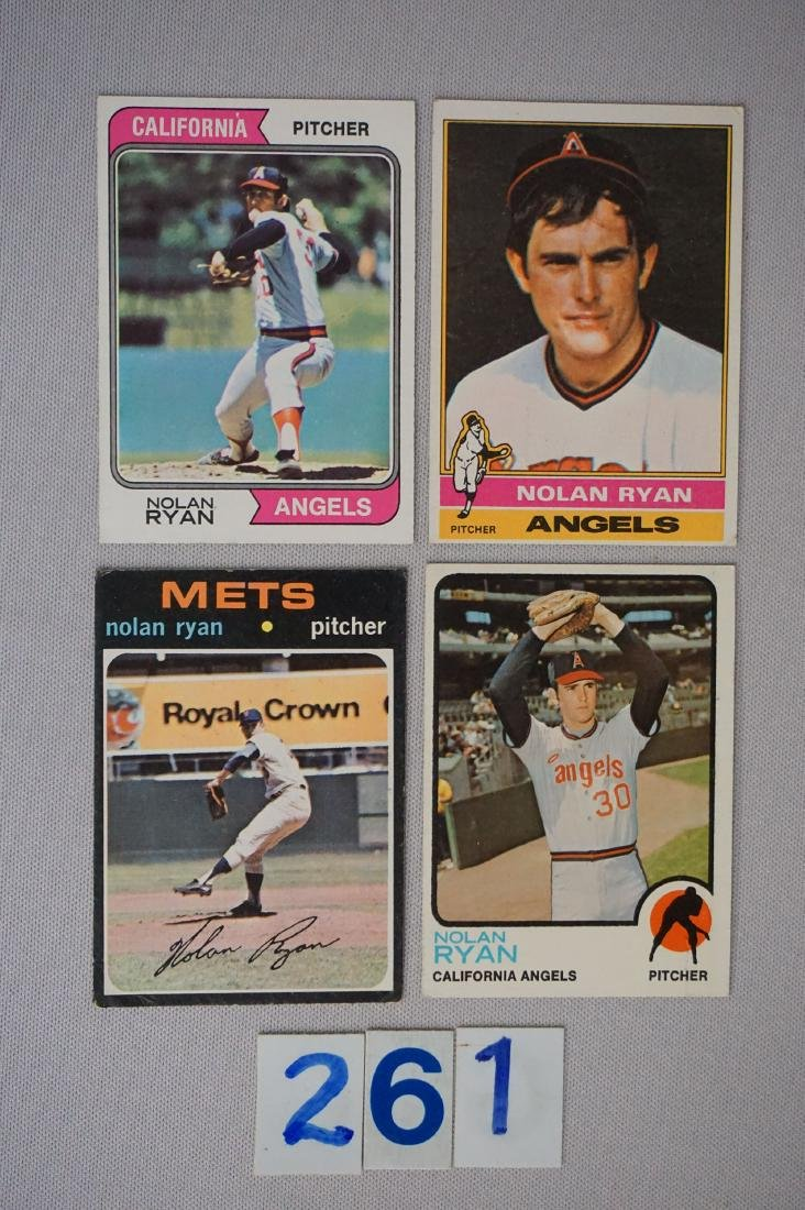 NOLAN RYAN: 1971 #513 (CR), '73 #220,