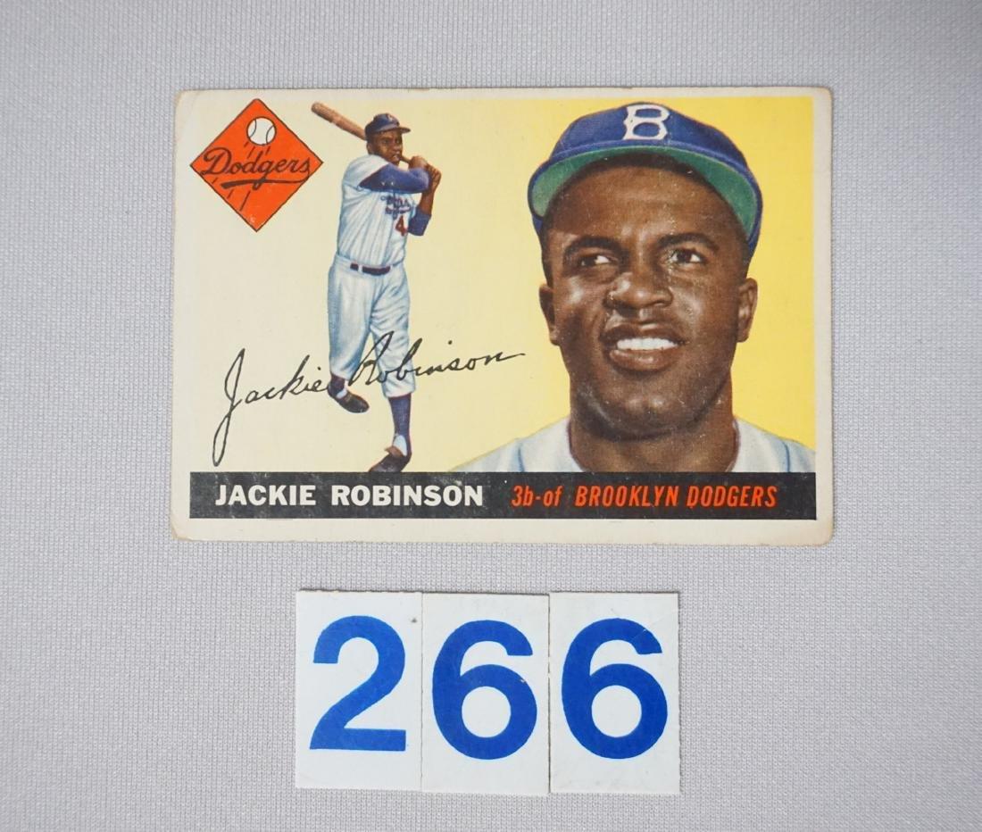 1955 TOPPS #50 JACKIE ROBINSON,