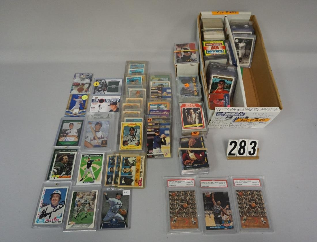 TWO-ROW BOX INCLUDES AUTOGRAPHED