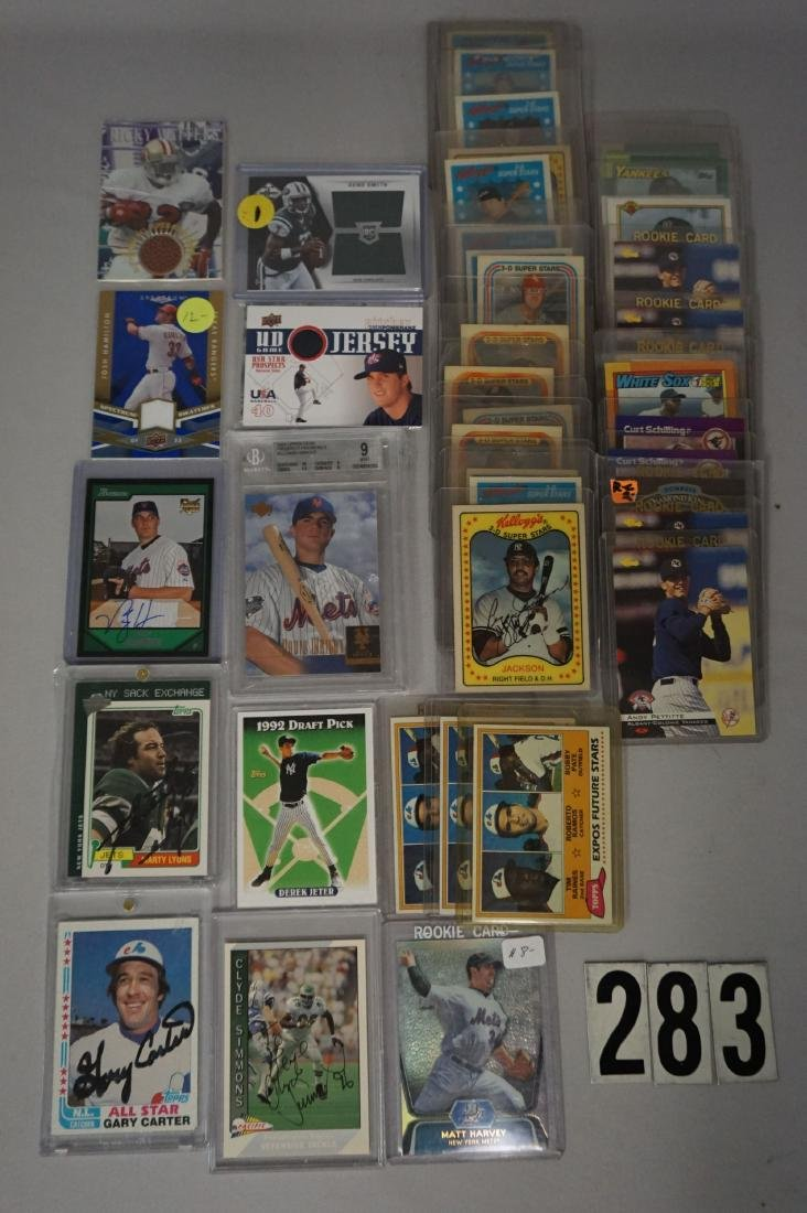 TWO-ROW BOX INCLUDES AUTOGRAPHED - 2