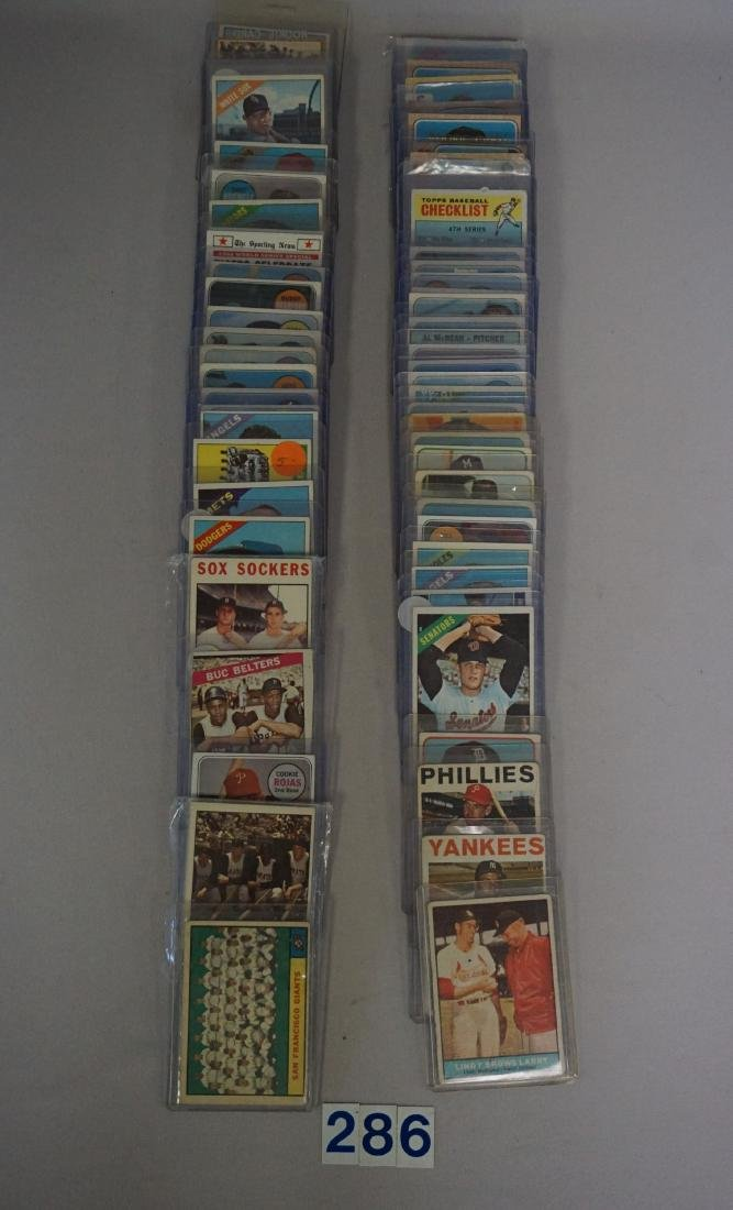 1961 TO 1969 TOPPS BASEBALL CARDS