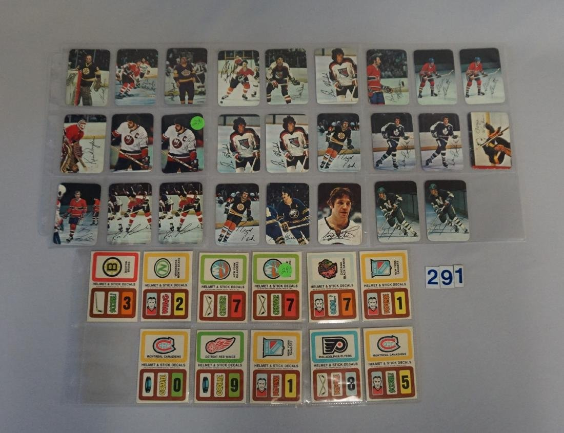 TOPPS HOCKEY LOT: 1977-'78 (200+ DIFF.) CARDS