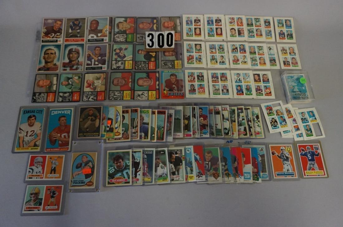 FOOTBALL CARD LOT: (39) 1955 BOWMAN