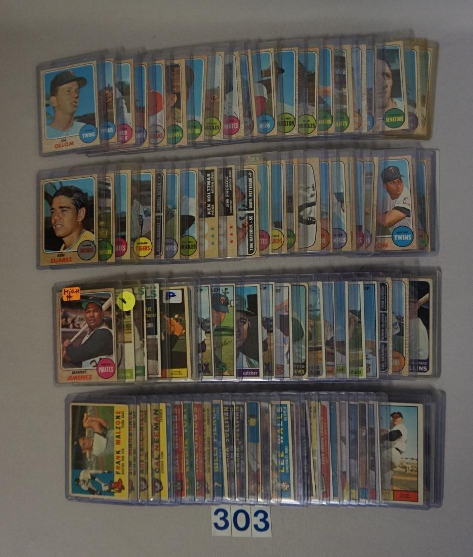 (85) 1960'S TOPPS BASEBALL CARDS