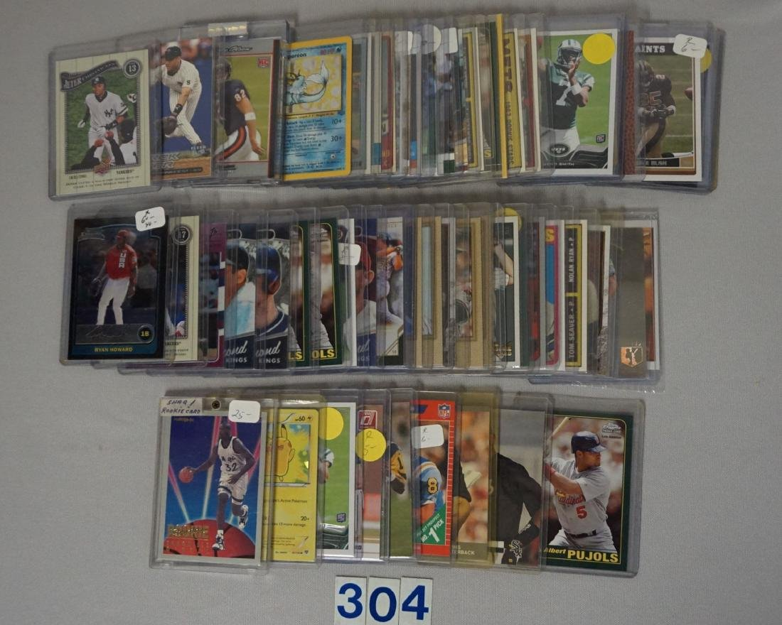 (50+) ASSORTED SPORTS CARDS