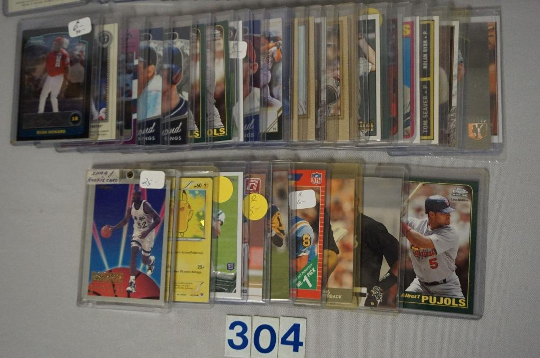 (50+) ASSORTED SPORTS CARDS - 2