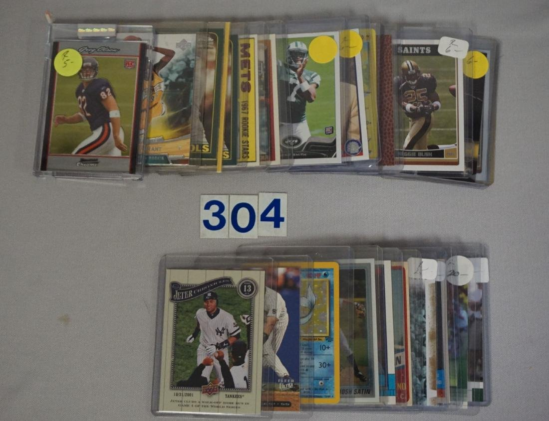 (50+) ASSORTED SPORTS CARDS - 3