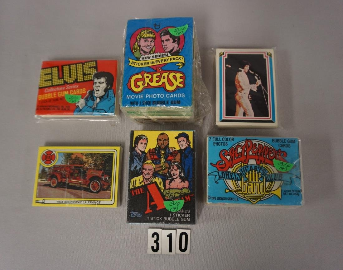 LOT OF (4) 1970'S NON-SPORTS SETS: