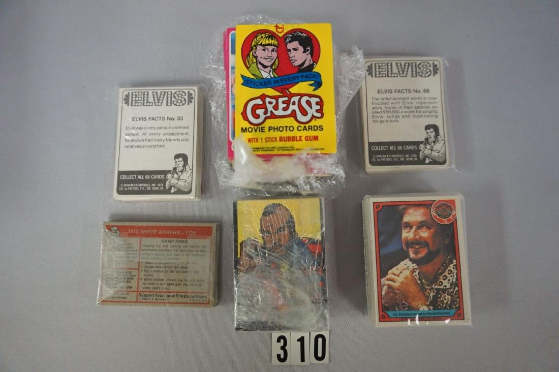 LOT OF (4) 1970'S NON-SPORTS SETS: - 2