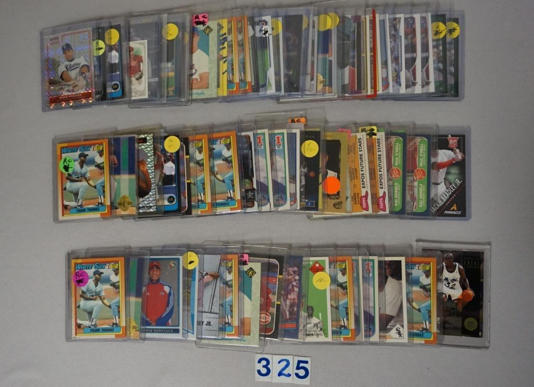 (67 CARDS) MANY BASEBALL ROOKIES