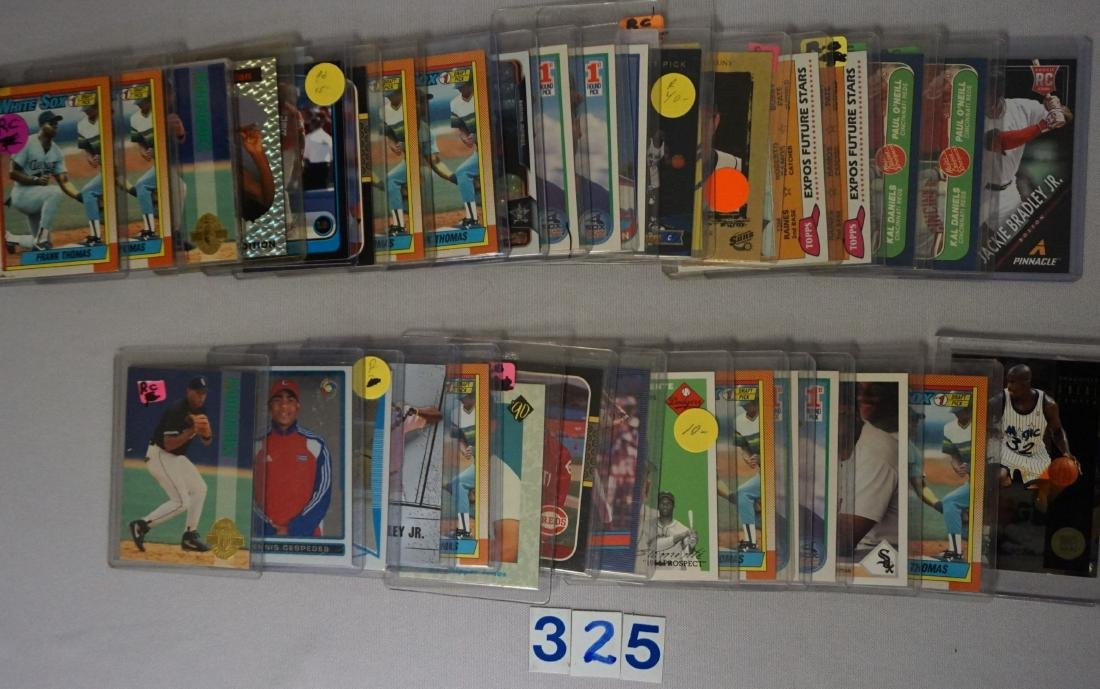 (67 CARDS) MANY BASEBALL ROOKIES - 2