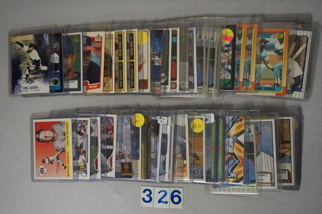 (76 CARDS) MANY BASEBALL ROOKIE CARDS - 2