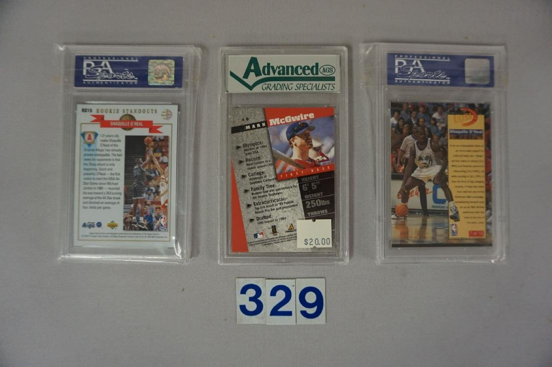 THREE ROW BOX OF ASSORTED CARDS, - 3