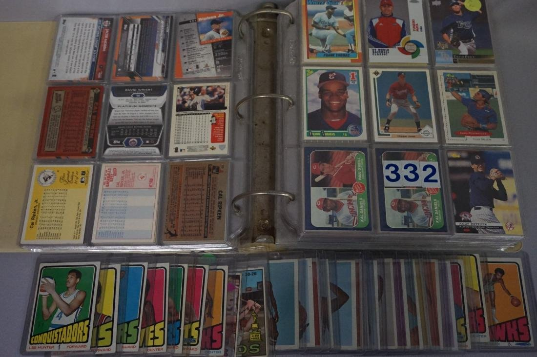 (80+ CARDS) LOT OF 1960'S & '70'S SPORTS CARDS, - 3