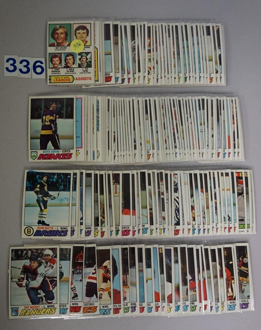 (160) 1976-'77 TOPPS HOCKEY CARDS