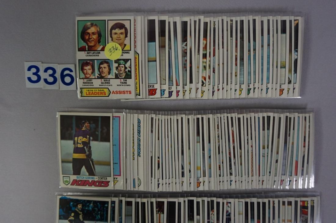 (160) 1976-'77 TOPPS HOCKEY CARDS - 2