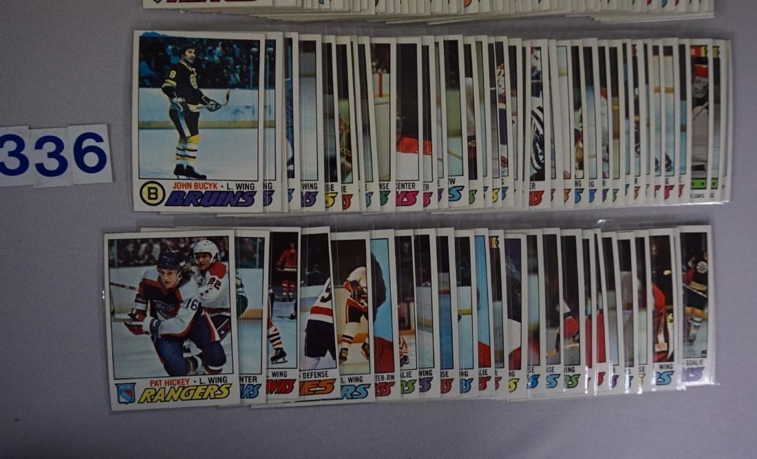(160) 1976-'77 TOPPS HOCKEY CARDS - 3