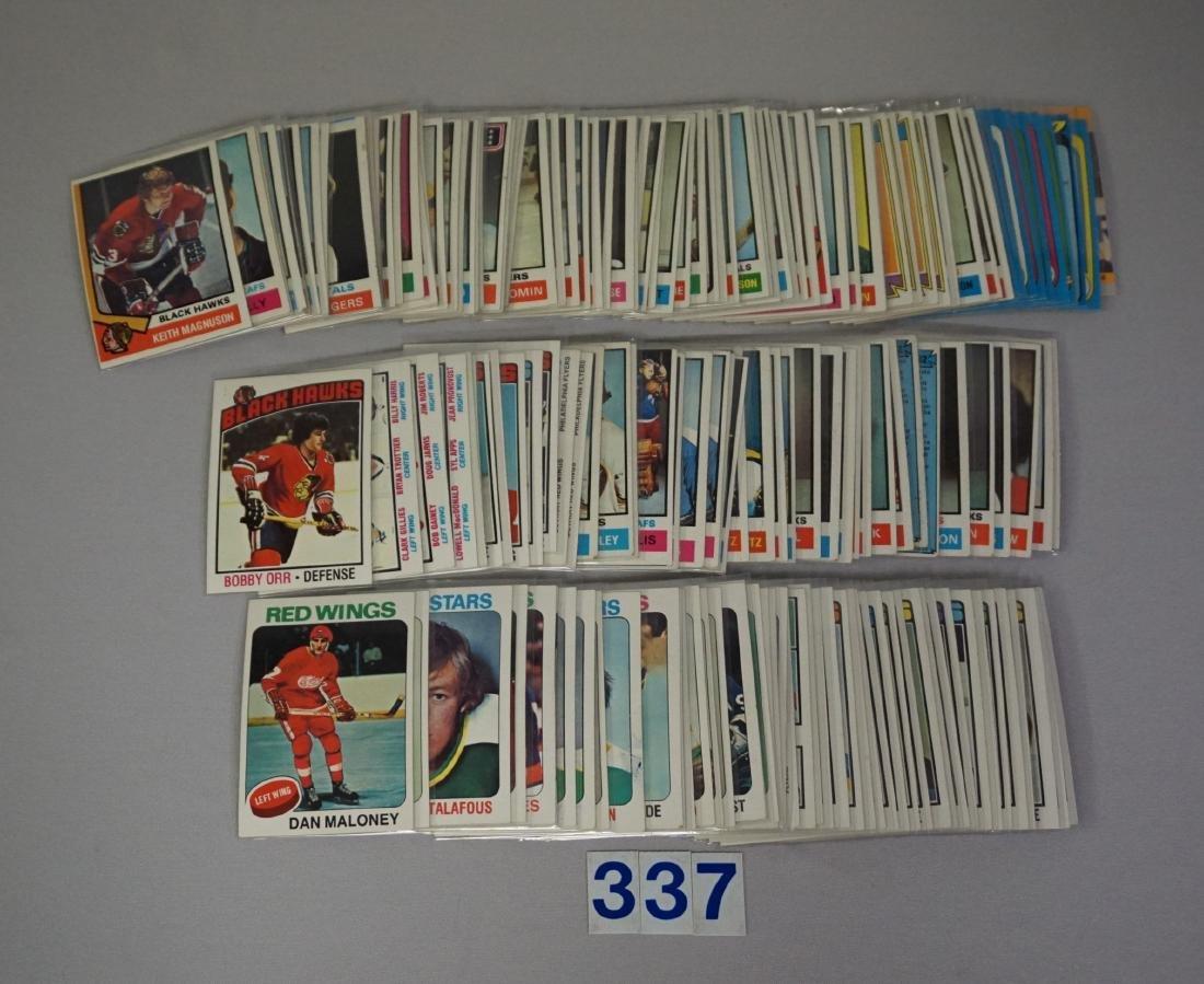 HOCKEY CARD LOT: - 3