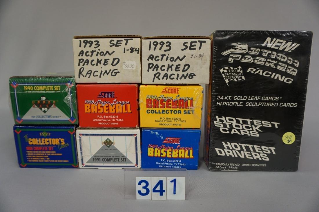1989, '90 & '91 UPPER DECK BASEBALL CARD