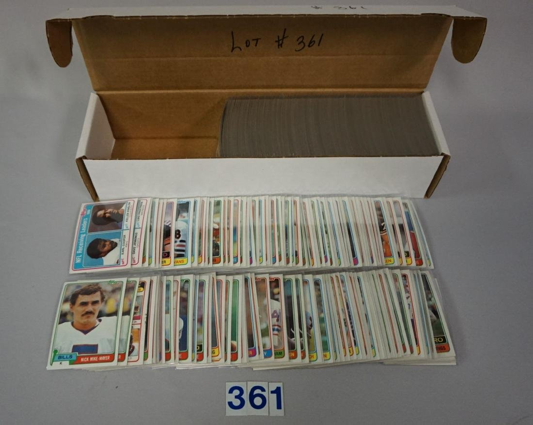 (540+) 1982 TOPPS FOOTBALL CARDS
