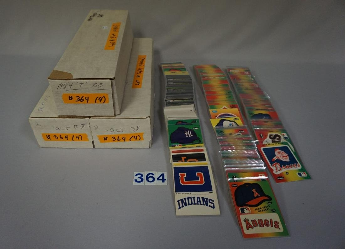 (1) 1984 TOPPS BASEBALL CARD SET,