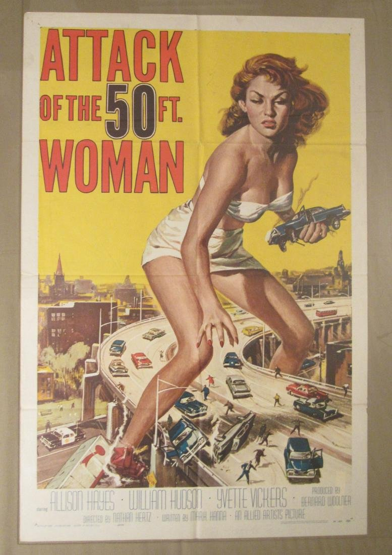 ATTACK OF THE 50 FT. WOMAN - 1958,