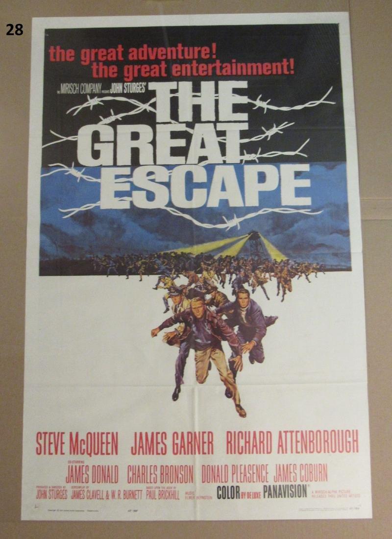 THE GREAT ESCAPE - STEVE McQUEEN - 1963,