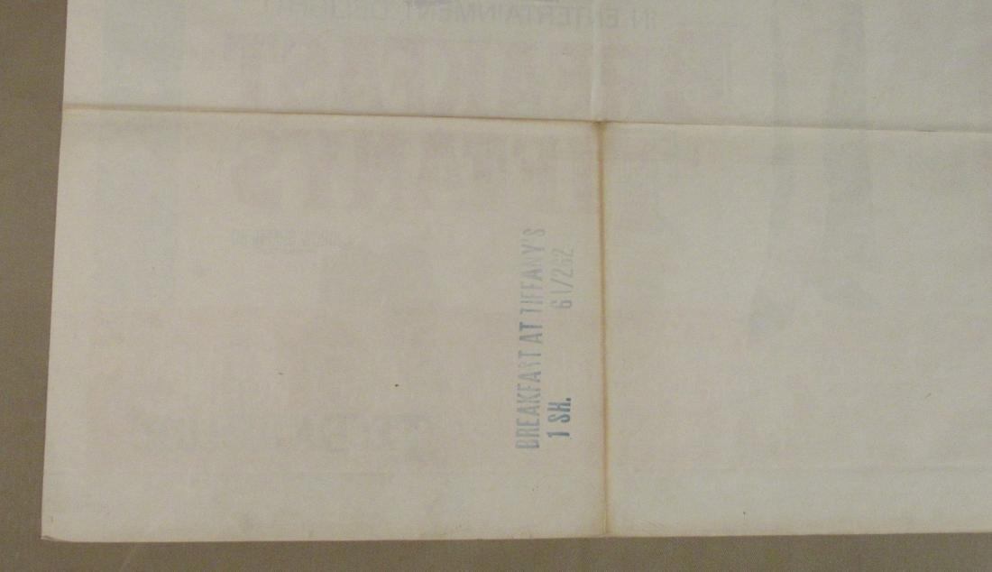 BREAKFAST AT TIFFANY'S - 1961, - 8