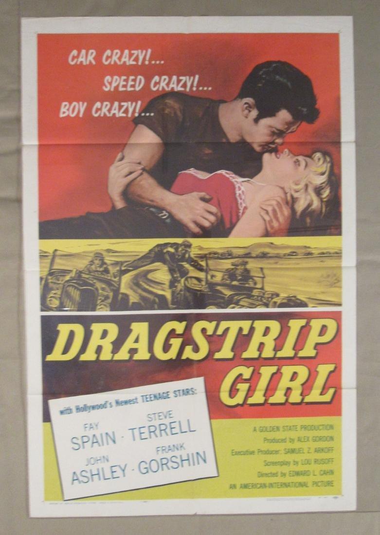 DRAGSTRIP GIRL - 1957,