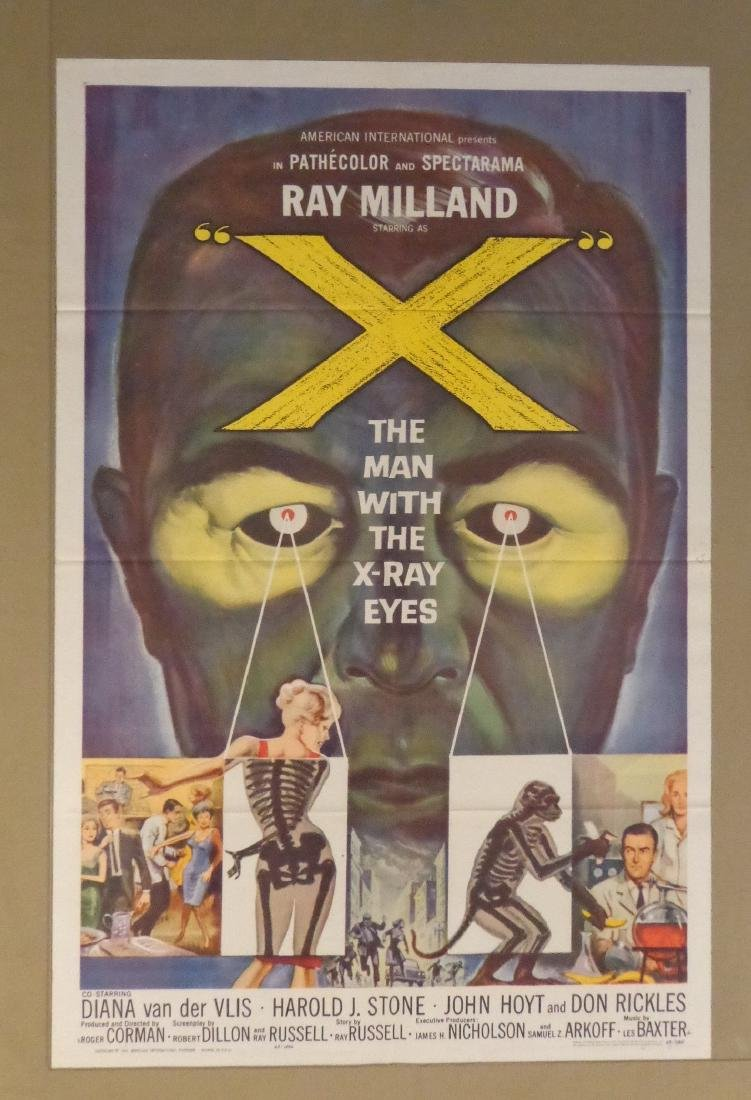 THE MAN WITH THE X-RAY EYES - 1963: