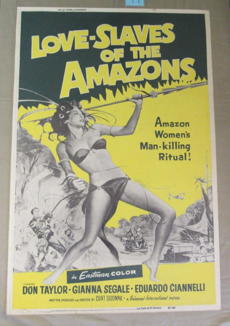 LOVE SLAVES OF THE AMAZONS - 1957,