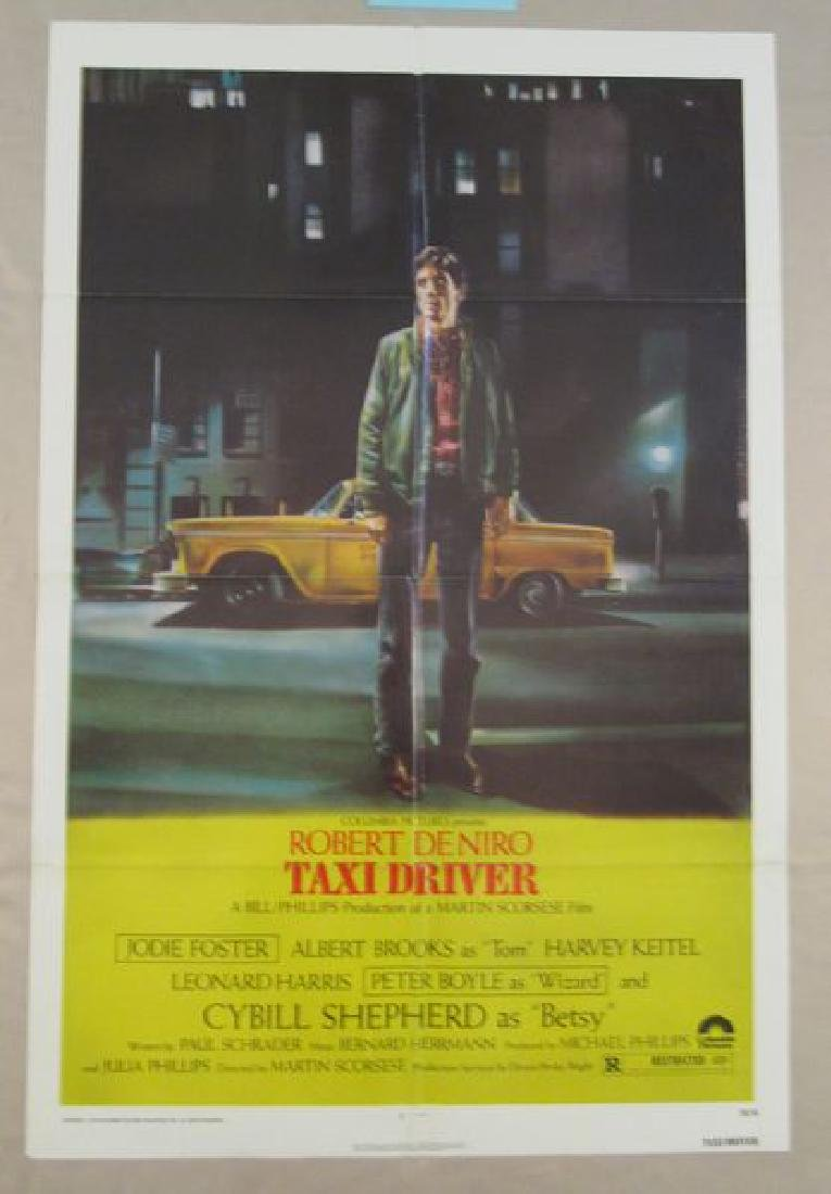 TAXI DRIVER - 1976   ONE SHEET