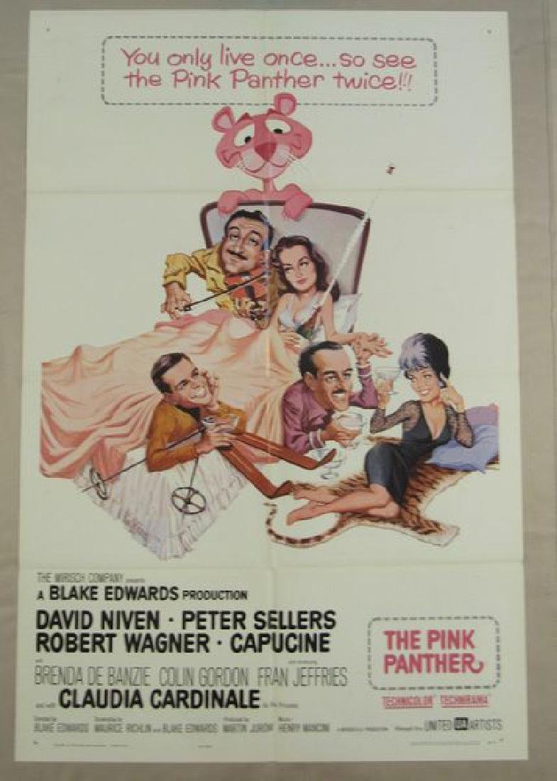 THE PINK PANTHER - 1964, ONE SHEET