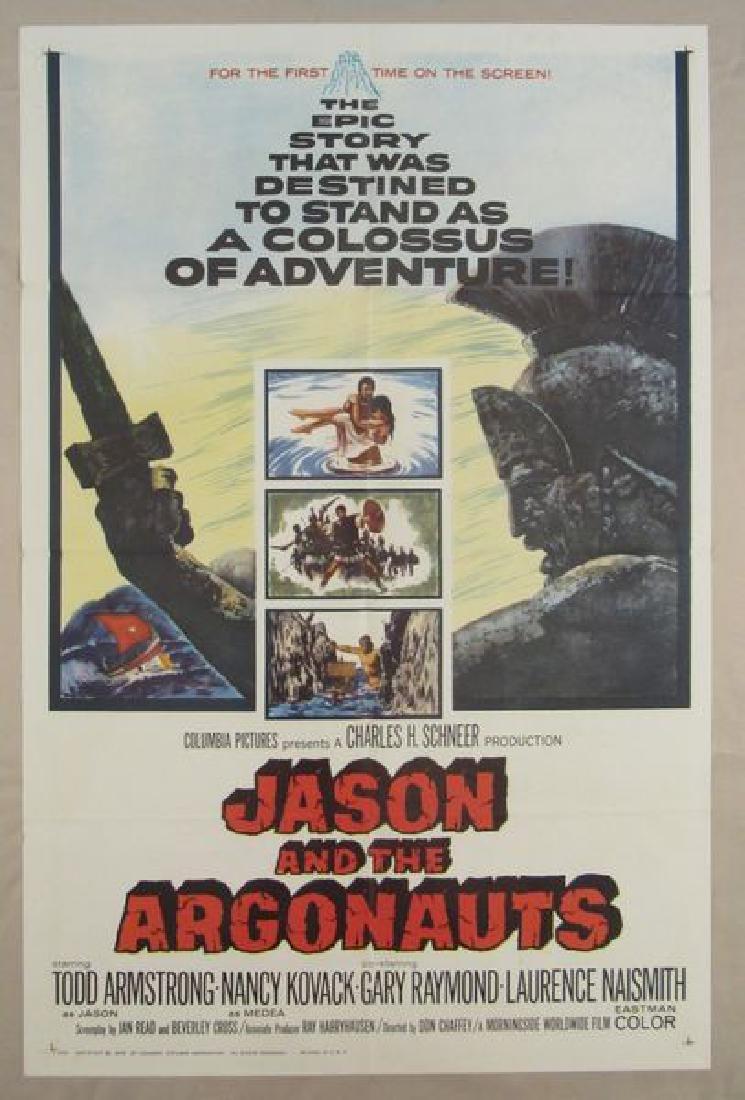 JASON AND THE ARGONAUTS - 1963, ONE SHEET