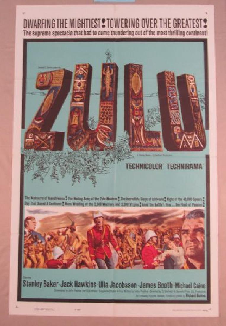 ZULU - 1963, ONE SHEET