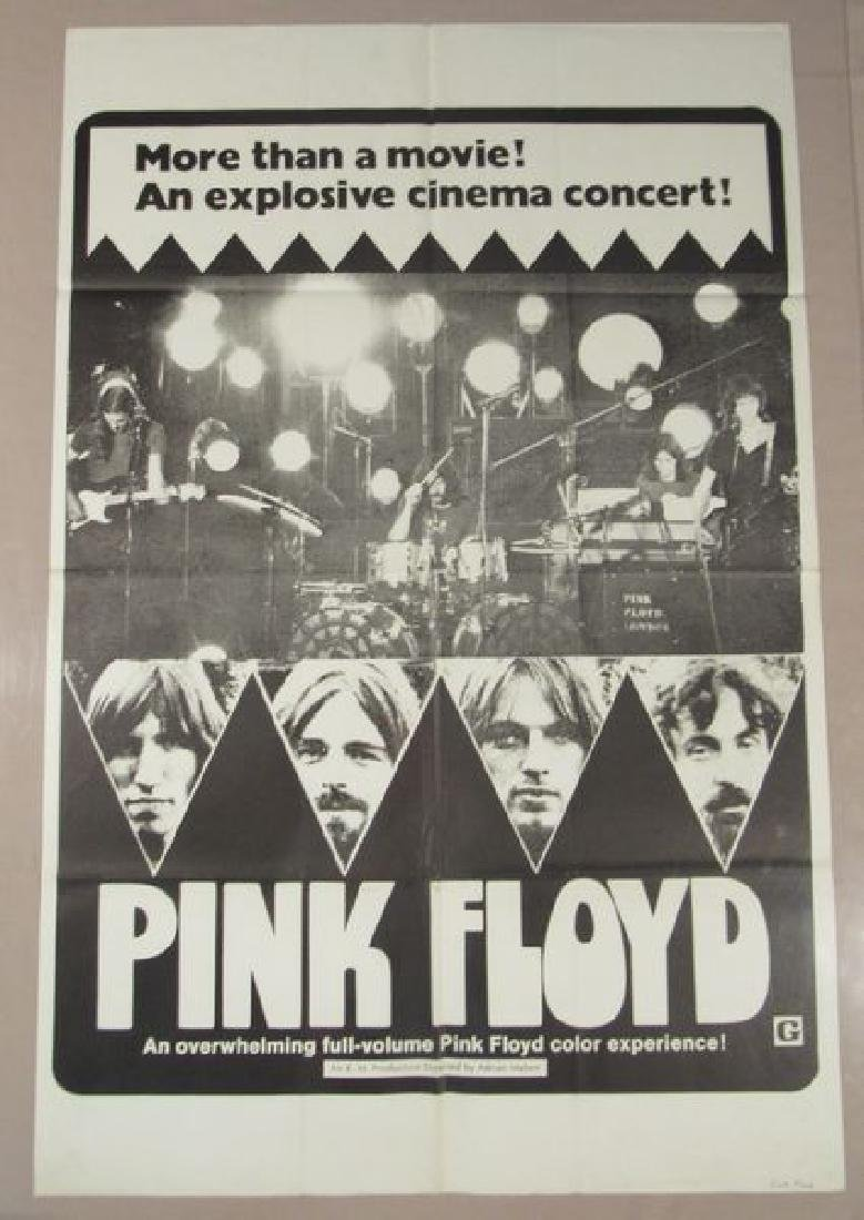 PINK FLOYD - 1972 WHITE STYLE - ONE SHEET