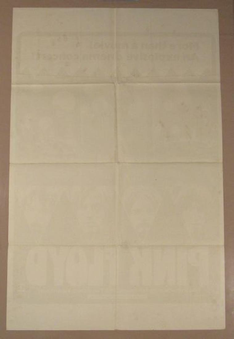 PINK FLOYD - 1972 WHITE STYLE - ONE SHEET - 2