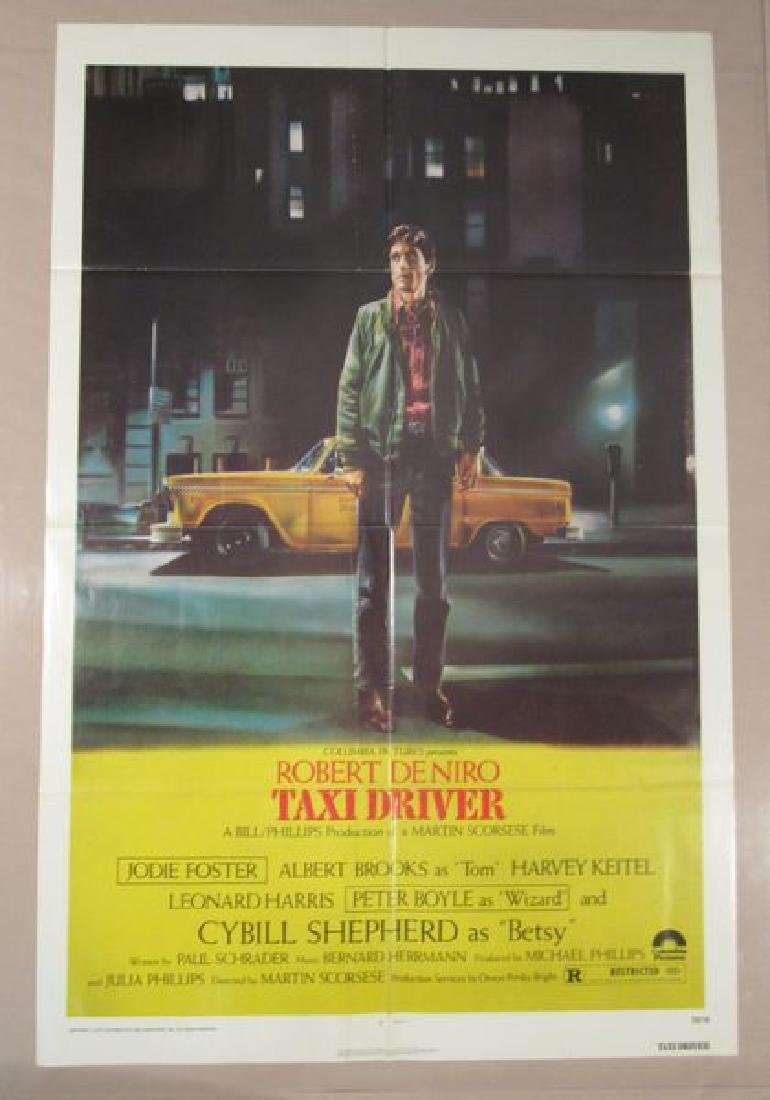 TAXI DRIVER - 1976, ONE SHEET