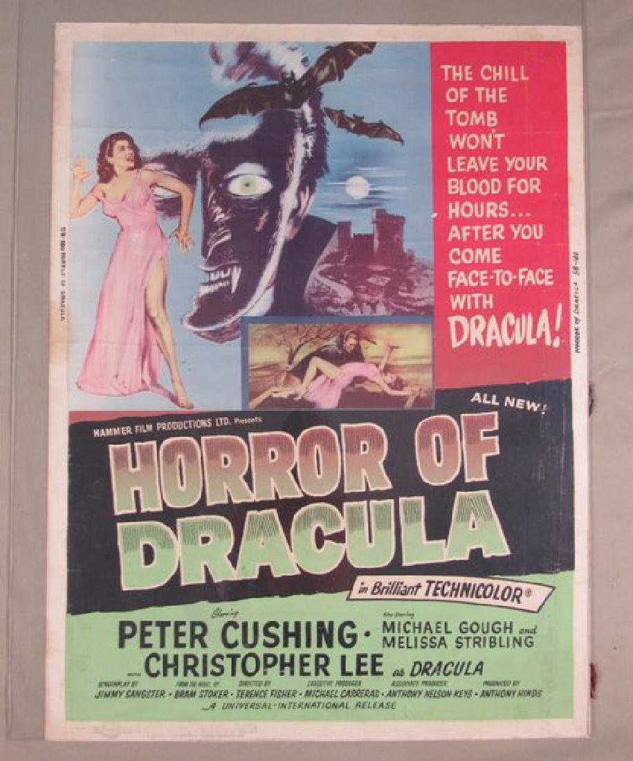 HORROR OF DRACULA - 1958 (GREEN STYLE),