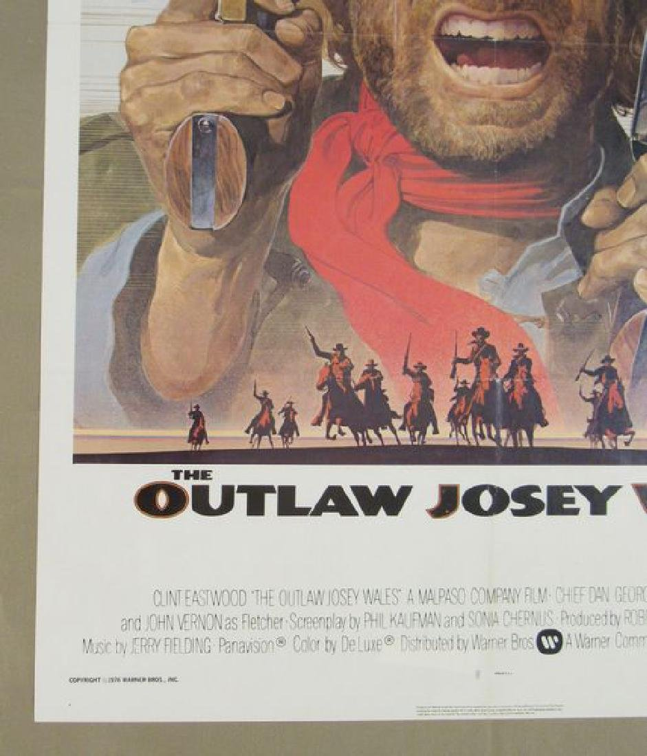 THE OUTLAW JOSEY WALES - 1976 (NSS STYLE), - 2