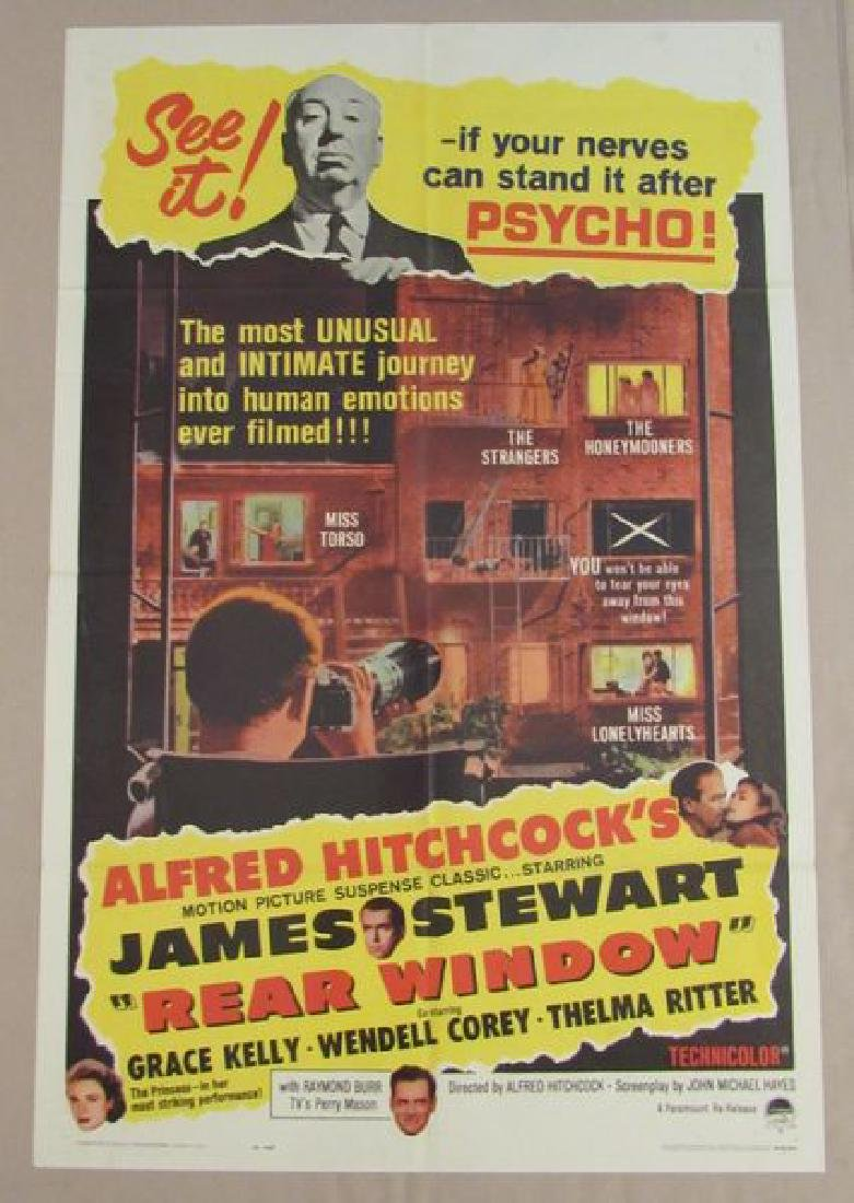 """ALFRED HITCHCOCK'S """"REAR WINDOW"""" - 1954 / R62"""
