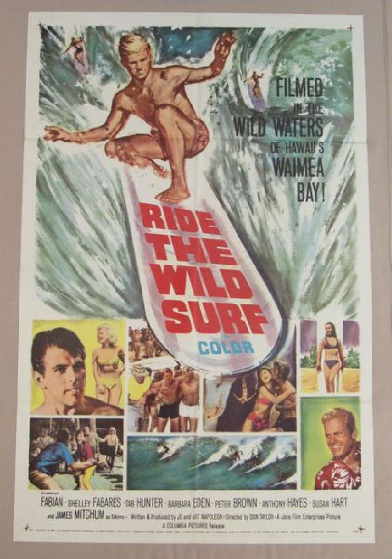 RIDE THE WILD SURF - 1964, ONE SHEET