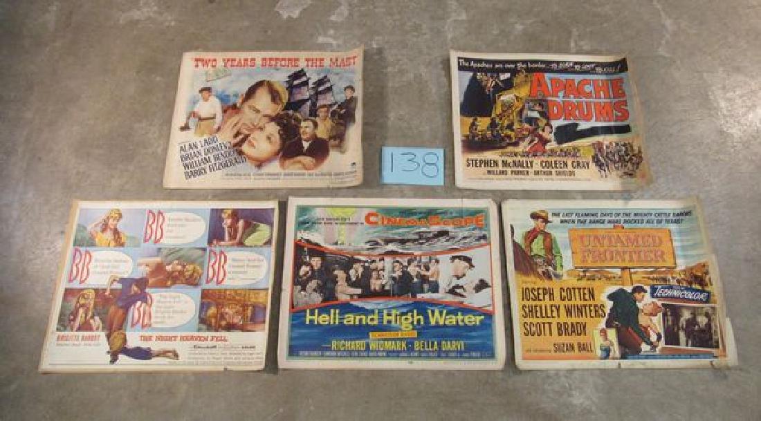 (10) HALF SHEETS (CIRCA 1945-1955): - 2