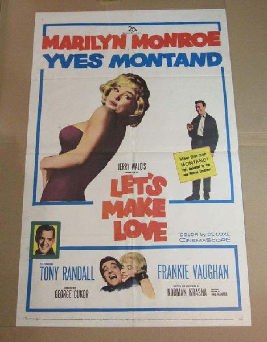 LET'S MAKE LOVE - MARILYN MONROE - 1960