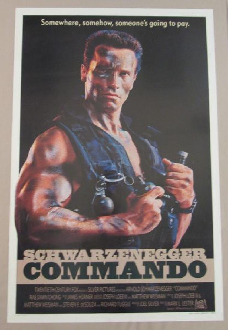 COMMANDO - 1985, ONE SHEET - ROLLED