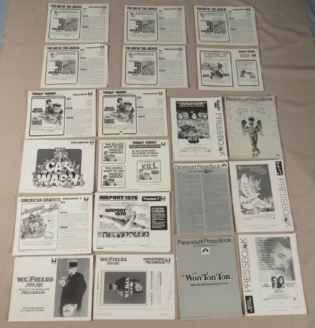 (53) ASSORTED PRESSBOOKS (MOST UNCUT) - 2