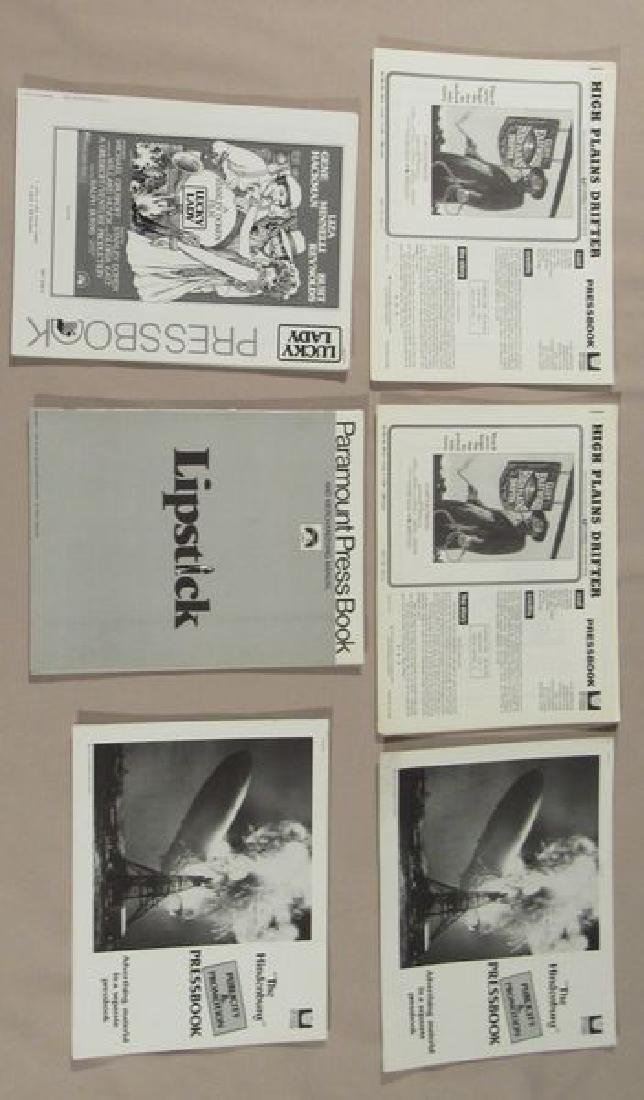 (53) ASSORTED PRESSBOOKS (MOST UNCUT) - 4